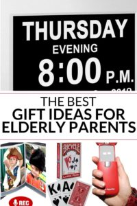 collection of gifts for elderly parents