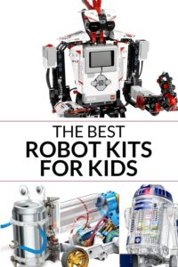Collection of robots for kids