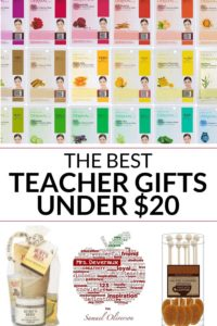 Collection of teach gift ideas