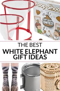 Collection of white elephant gift exchange ideas