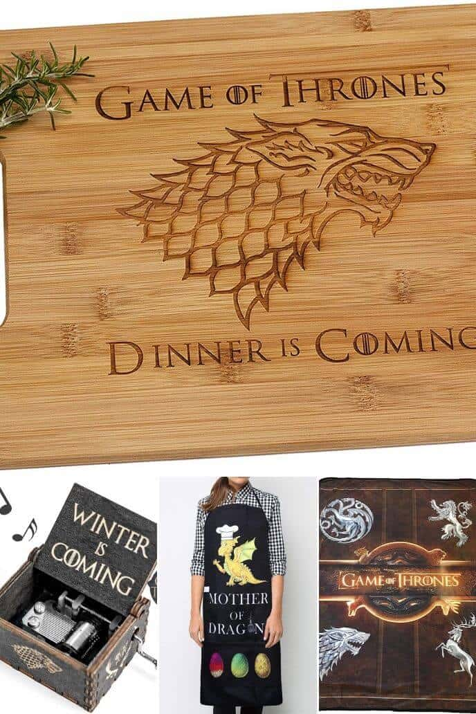 collection of Game of Thrones Accessories