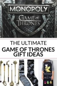 collection of game of thrones gifts