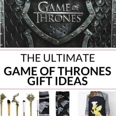 Awesome Game of Thrones Gifts