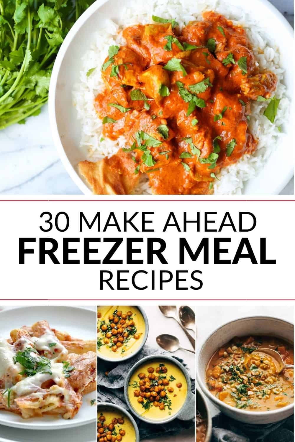 These freezer meals are a great idea for any night where you need to fix something up quick!