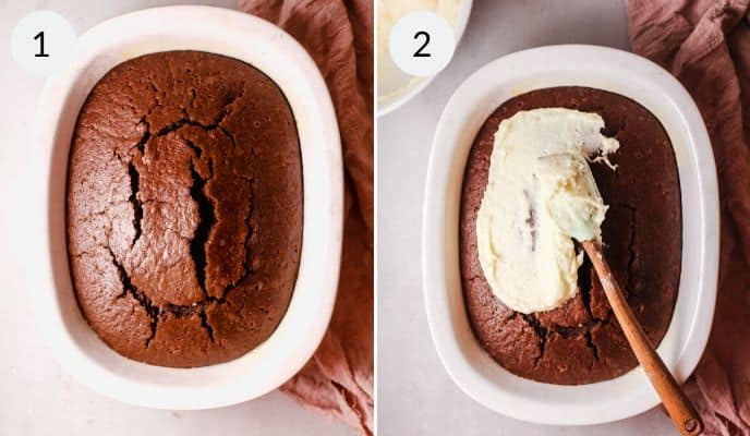 Step by step instructions for making homemade chocolate cake recipe