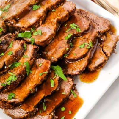 Instant Pot Beef with Balsamic Sauce