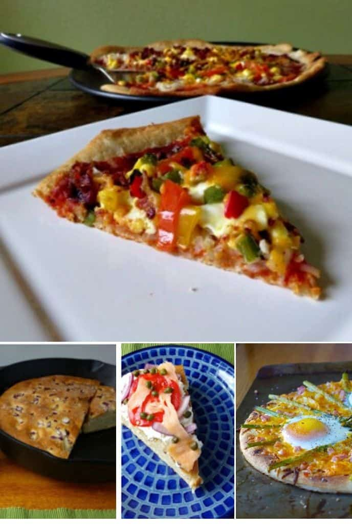 Collection of Breakfast Pizza Recipes