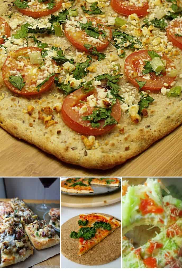collection of Veggie Pizza Recipes