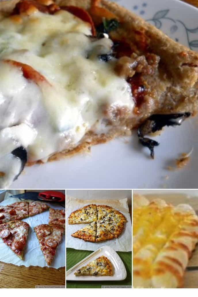 collection of Pizza Dough Recipes