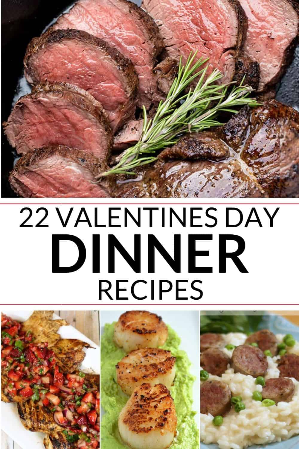 Collection of Valentines Dinner Ideas
