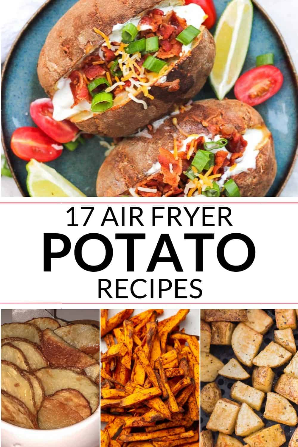 collection of air fryer potatoes recipes