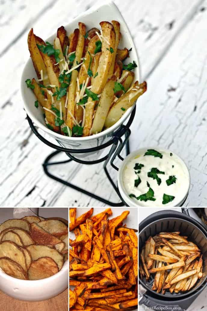 collection of Air Fryer Potato Side Dish Recipes