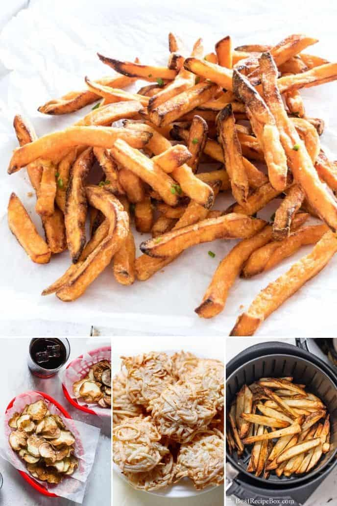 collection of Air Fryer Fries Recipes
