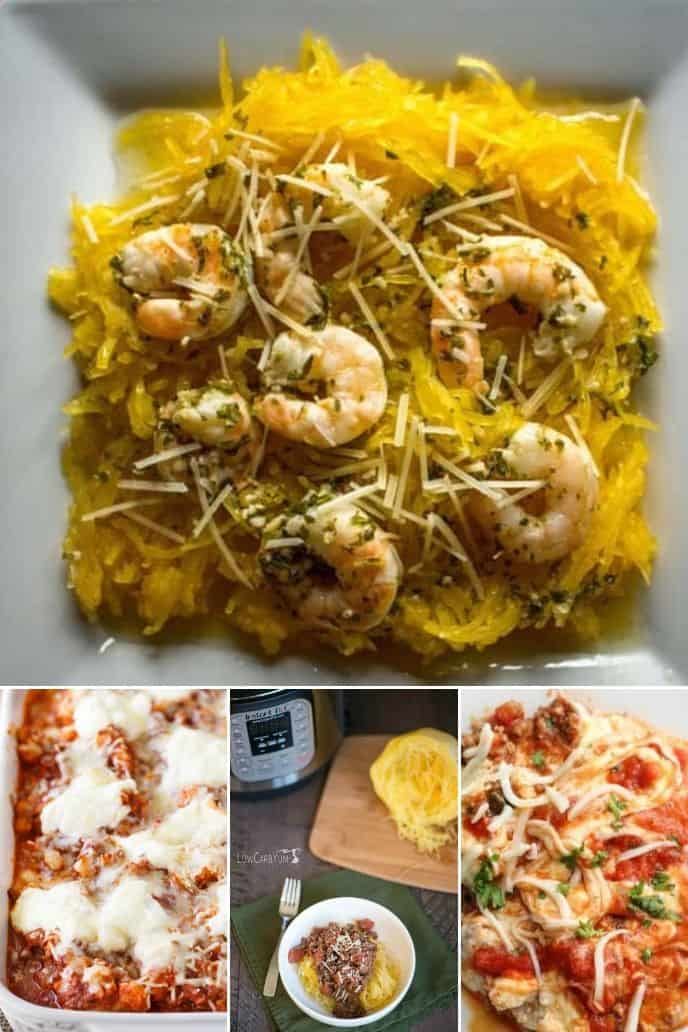 collection of Italian Easy Low Carb Recipes