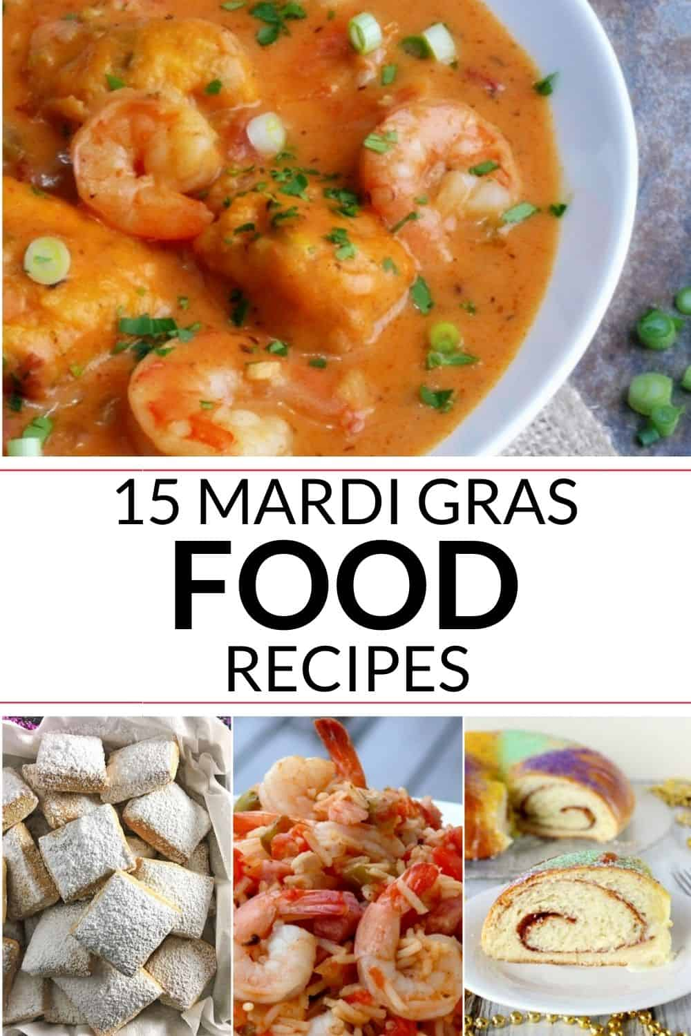 collection of mardi gras recipes