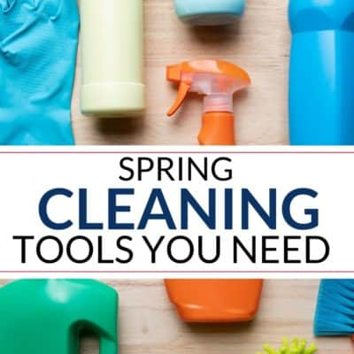 Spring Cleaning Supplies List