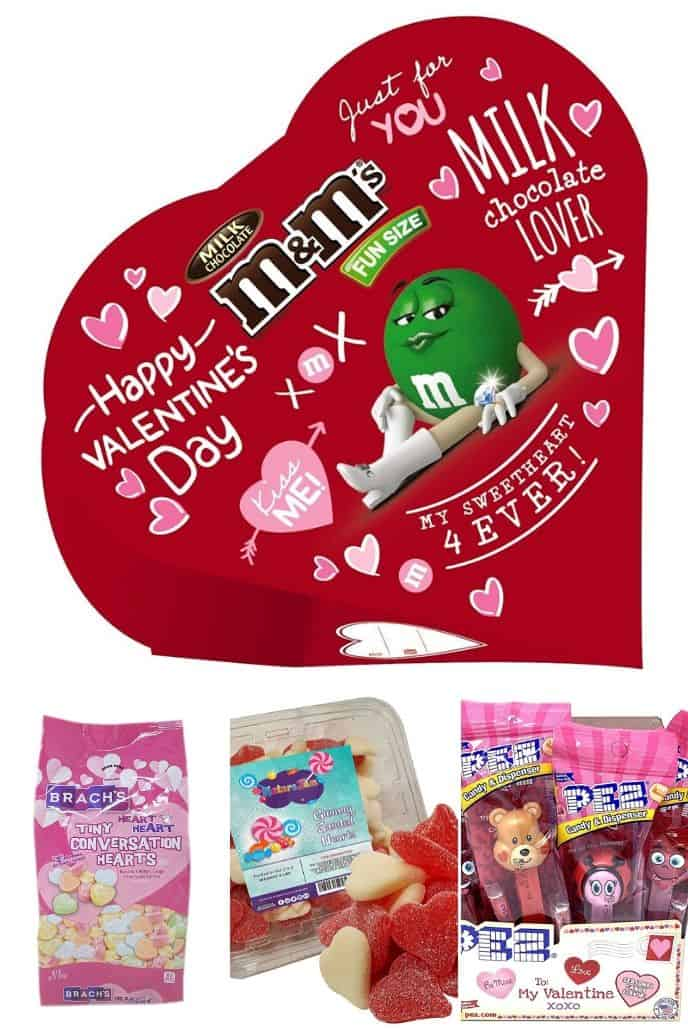 Collection of Valentines Day Gifts for Kids - Treats