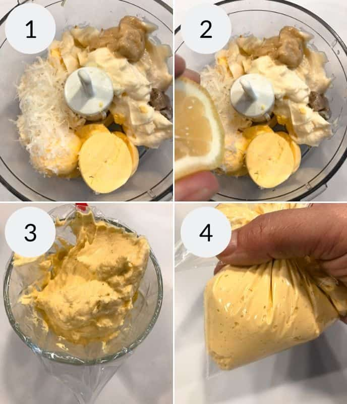 Step by step instructions for making amazing deviled eggs