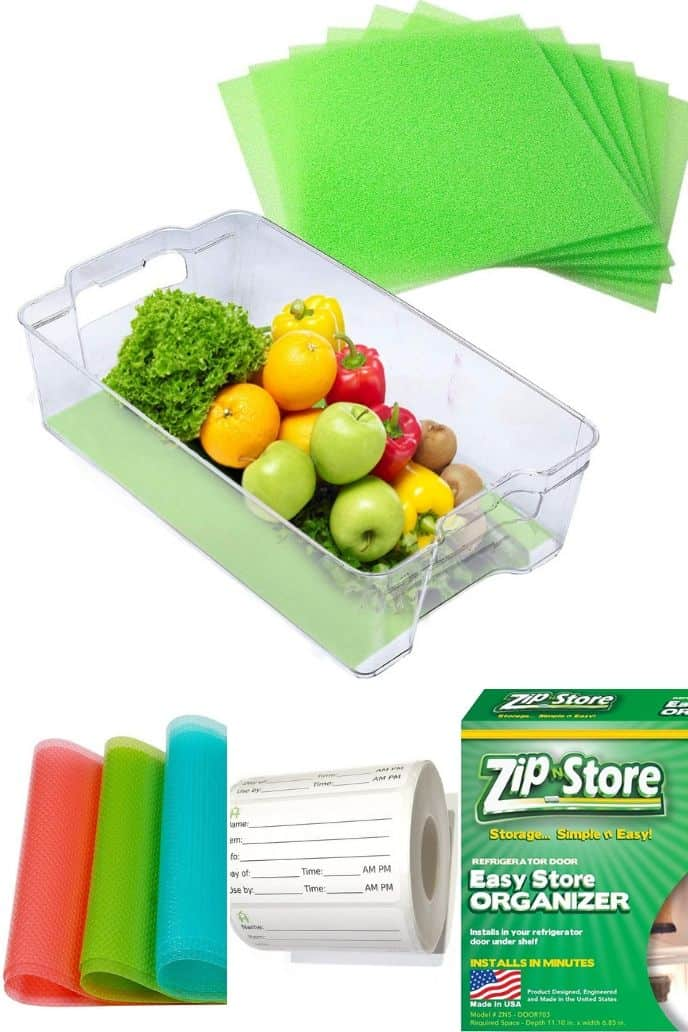 a great list of miscellaneous fridge and freezer organization tips
