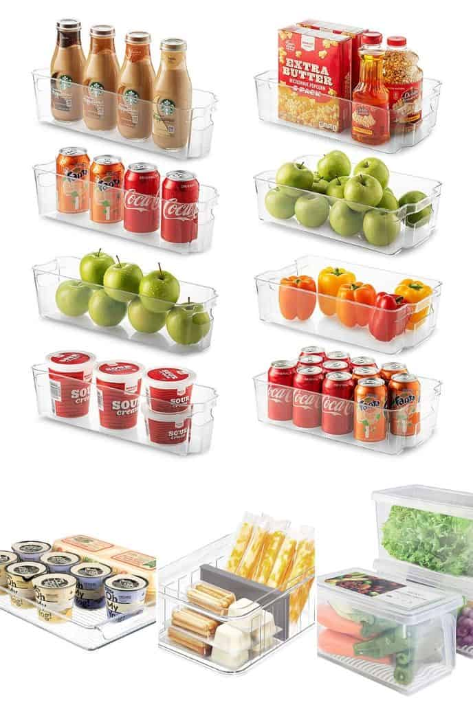 how to organize your fridge with these awesome ideas to help your fridge organization with space
