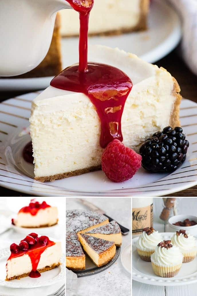 collection of the best cheesecake recipe