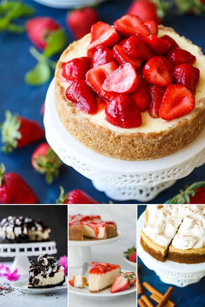 collection of instant pot cheesecake recipes