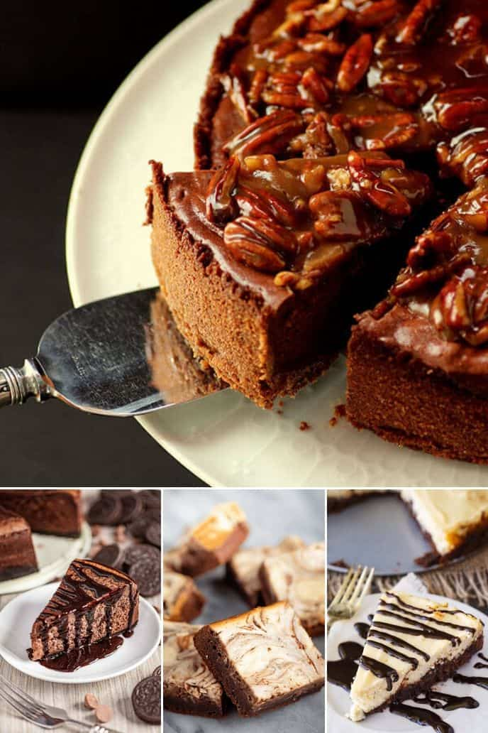 collection of chocolate cheesecake recipe