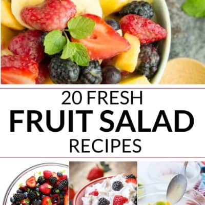 20 Fresh Fruit Salad Recipes
