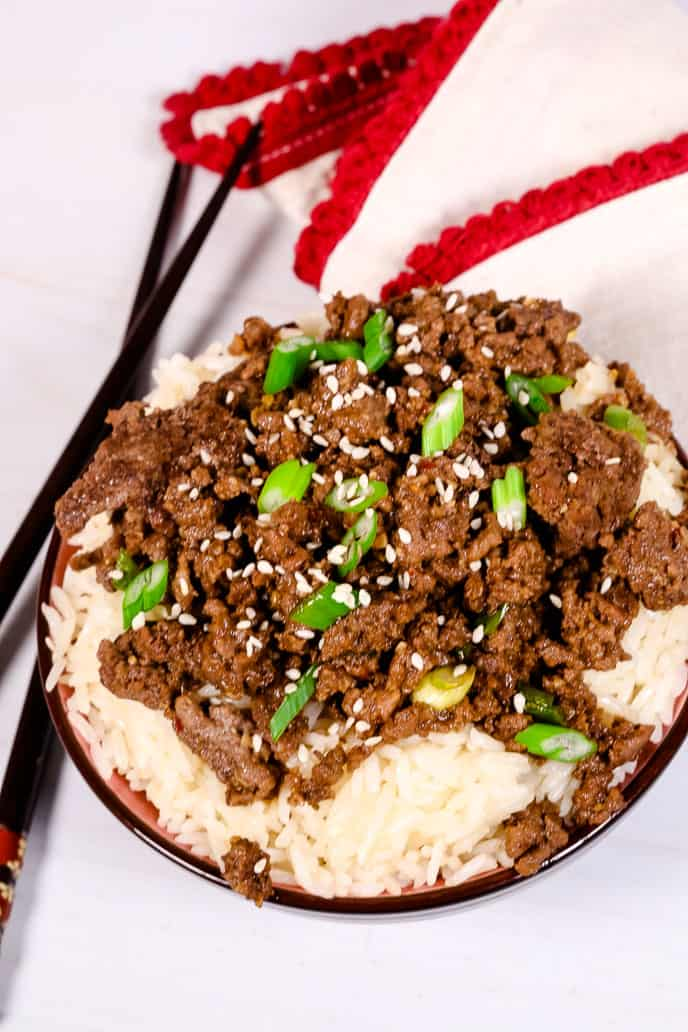 15 Minute Korean Bulgogi Beef Bowl It Is A Keeper