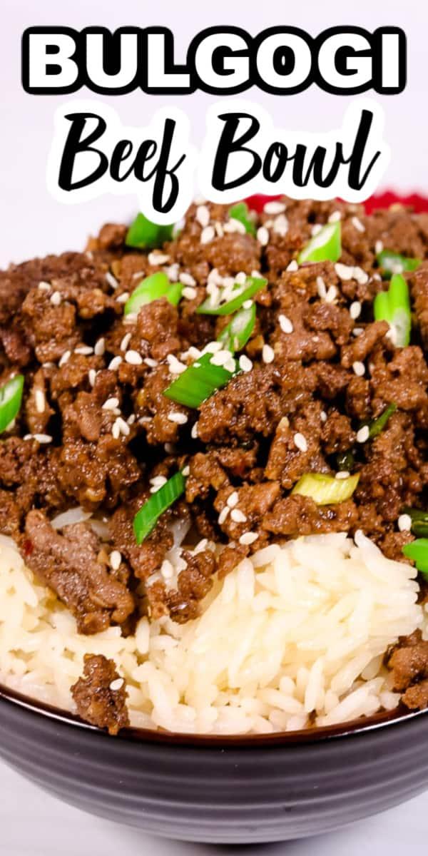 15 Minute Korean Bulgogi Beef Bowl | It Is a Keeper