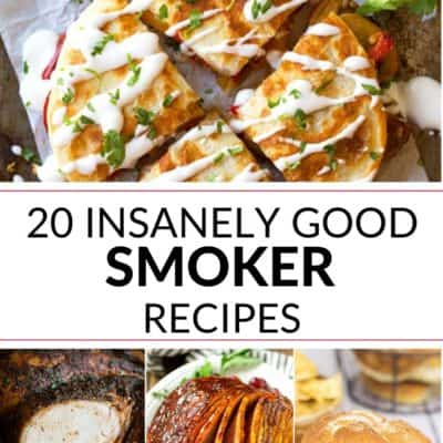 20 Insanely Good Smoker Recipes