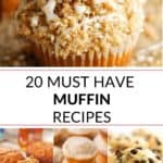 a collection of must have muffin recipes