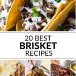 These brisket recipes are so yummy! You will find the best brisket recipe and more!