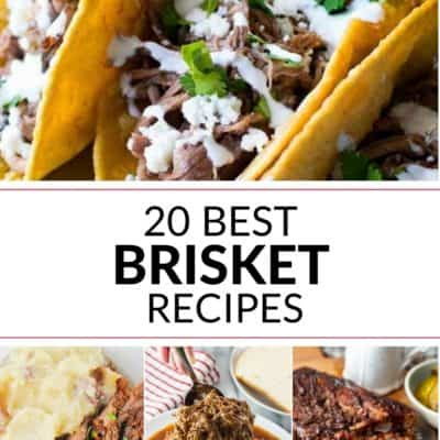 20 Best Brisket Recipes