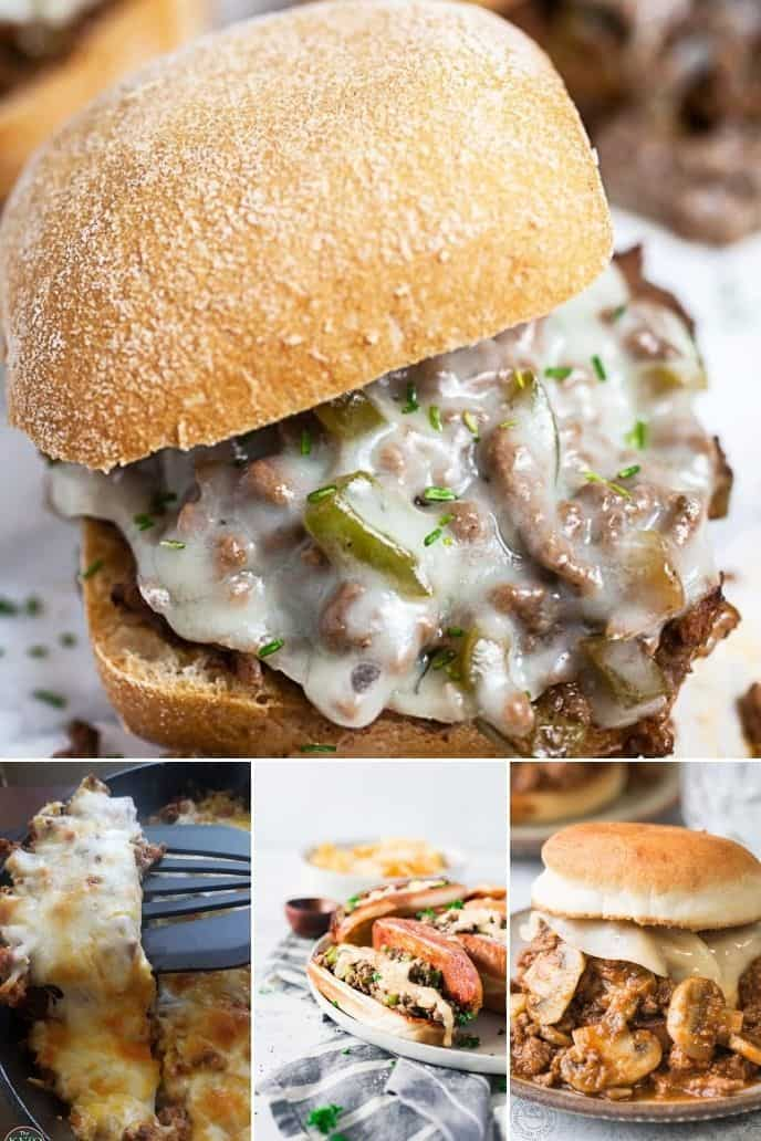 Philly cheesesteak sloppy joes recipes that are awesome