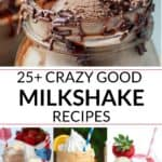 A collection of 25 best milkshakes