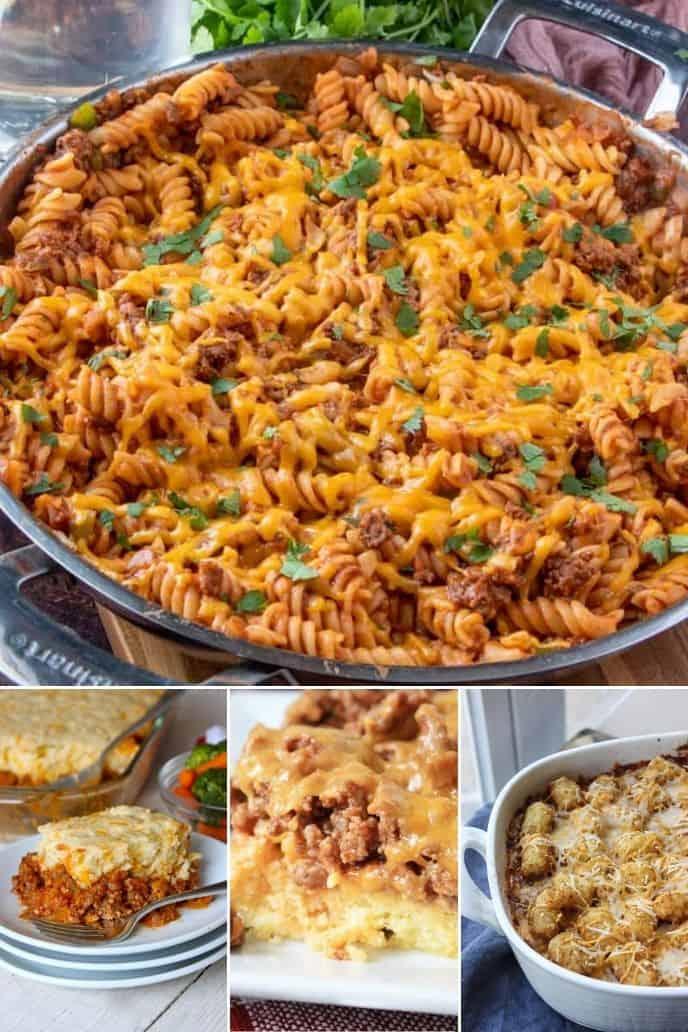 a savory list of the greatest sloppy Joe casserole recipes