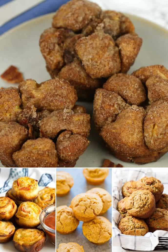 a collection of the best snack muffin recipes