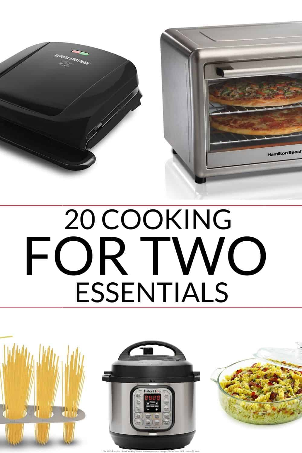 here is an awesome list of 20 cooking for two