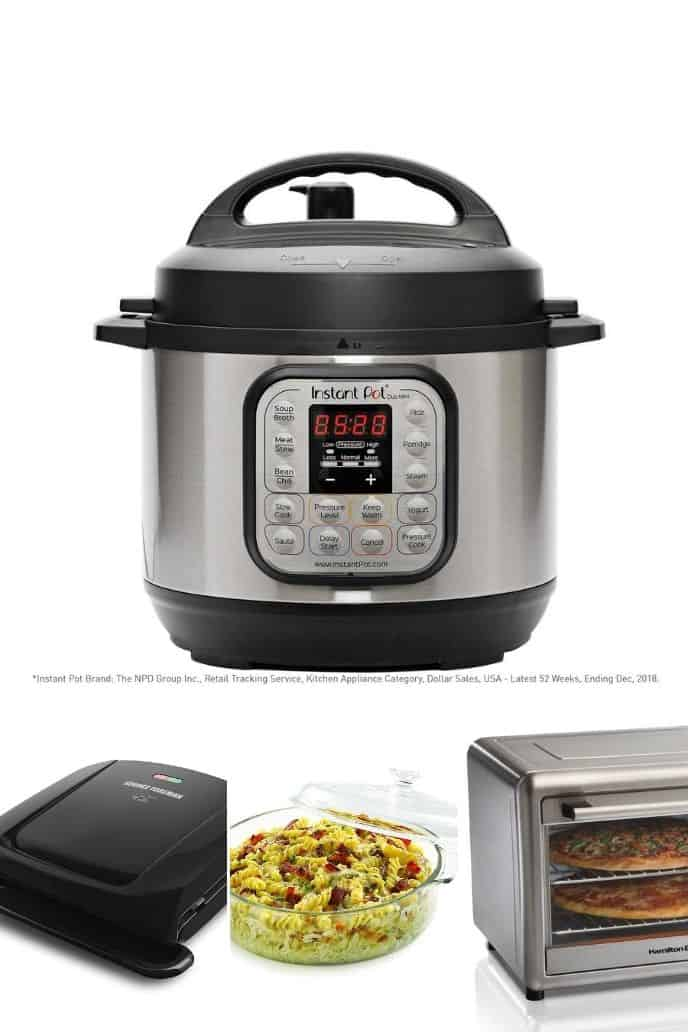 a great collection of items for cooking for two for meals