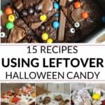 enjoy your leftover halloween candy with this collection of scrumptious recipes