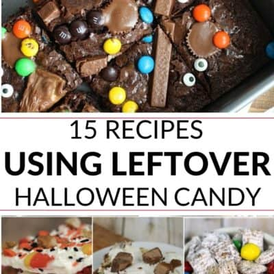 15 Recipes Using Leftover Halloween Candy