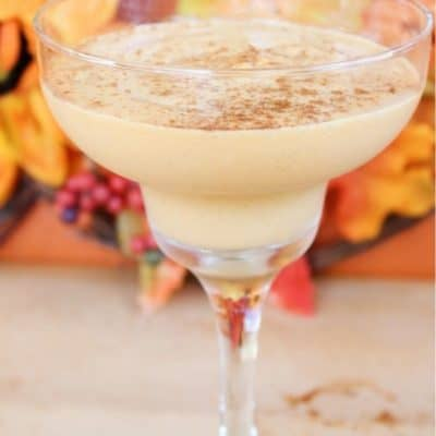 Spiked Pumpkin Milkshake