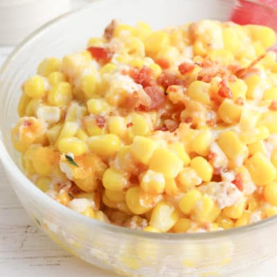 Cheesy Bacon and Corn Casserole