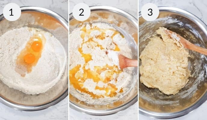 Step by step instructions for making easy dinner rolls