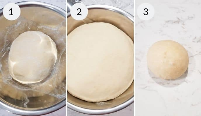 Step by step instructions for making homemade dinner rolls
