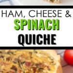 ham and spinach quiche 2 angles