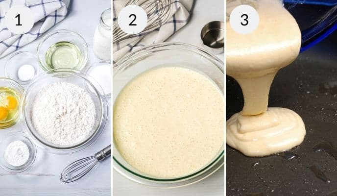 directions on how to make homemade pancake mix