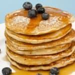 Homemade Pancakes with Homemade Pancake Mix