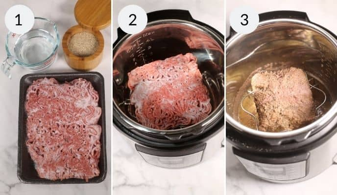 First 3 Steps for Beef recipe